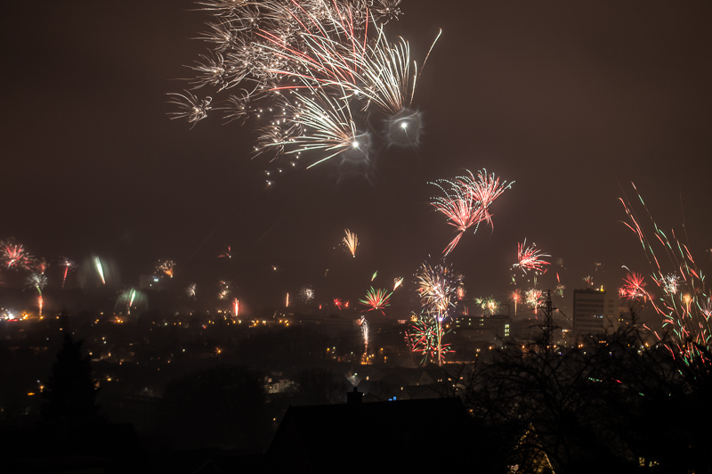 Neujahr (12:00 Uhr) in Ibbenbüren