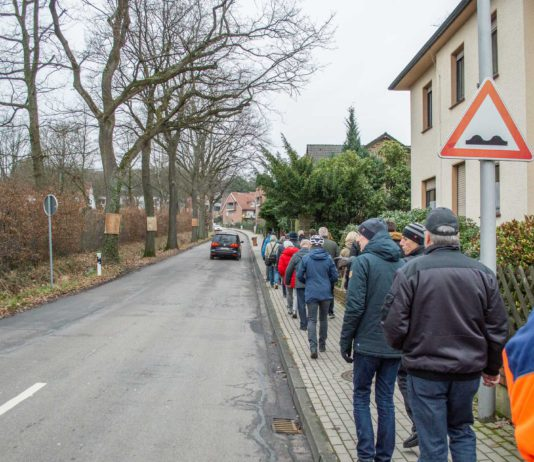 Ausbau der Bockradener Straße